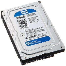 Ổ Cứng HDD PC Western Blue 500GB 7200RPM 32MB Cache 3.5-Inch (WD5000AZLX)
