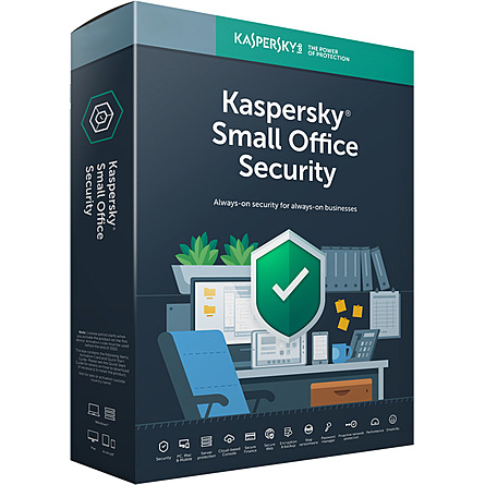 Phần Mềm Diệt Virus Kaspersky Small Office Security (5 PCs + 5 Mobiles + 1 File Server)