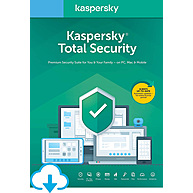 Phần Mềm Diệt Virus Kaspersky Total Security (1 Device / 1 Year)