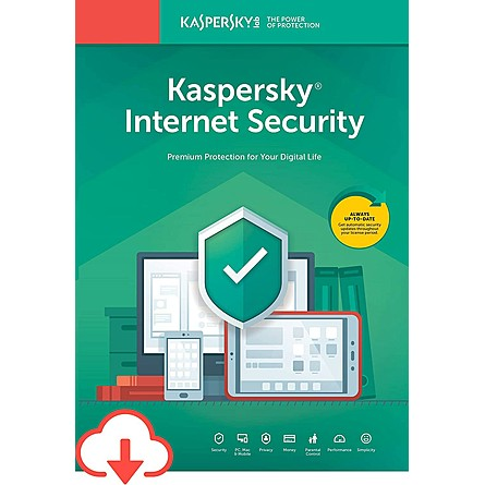 Phần Mềm Diệt Virus Kaspersky Internet Security (3 Devices / 1 Year)