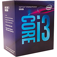 CPU Máy Tính Intel Core i3-8100 4C/4T 3.60GHz 6MB Cache UHD 630 (Socket Intel LGA 1151)
