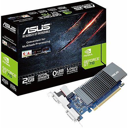 Card Màn Hình Asus GeForce GT 710 2GB GDDR5 (GT710-SL-2GD5-BRK)
