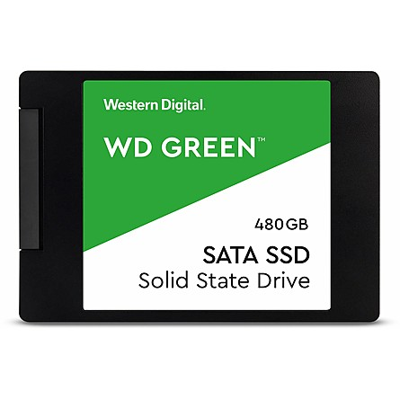 "Ổ Cứng SSD WD Green 480GB SATA 2.5"" (WDS480G2G0A)"