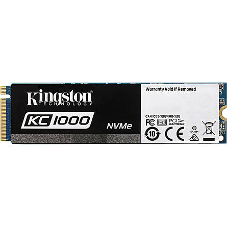 Ổ Cứng SSD Kingston KC1000 960GB NVMe M.2 PCIe Gen 3 x4 (SKC1000/960G)