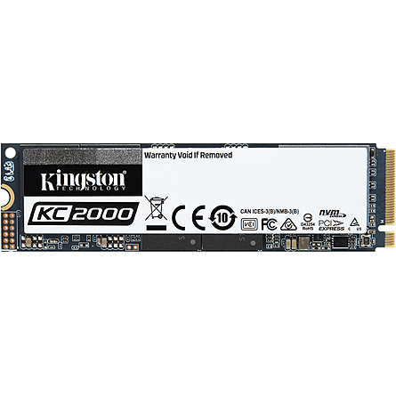Ổ Cứng SSD Kingston KC2000 500GB NVMe M.2 PCIe Gen 3 x4 (SKC2000M8/500G)