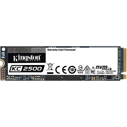 Ổ Cứng SSD Kingston KC2500 500GB NVMe M.2 PCIe Gen 3 x4 (SSKC2500M8/500G)