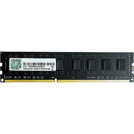 Ram Desktop G.Skill Value 4GB (1x4GB) DDR3 1600MHz (F3-1600C11S-4GNT)