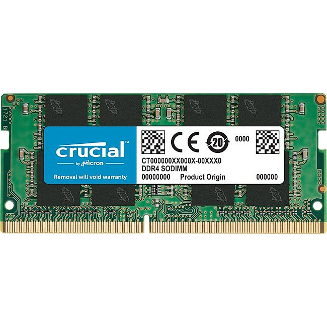 Ram Laptop Crucial 16GB (1x16GB) DDR4 2400MHz (CT16G4SFD824A)