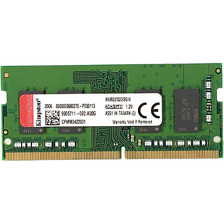 Ram Laptop Kingston 4GB (1x4GB) DDR4 3200MHz (KVR32S22S6/4)