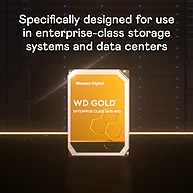 "Ổ Cứng HDD 3.5"" WD Gold 2TB SATA 7200RPM 128MB Cache (WD2005FBYZ)"