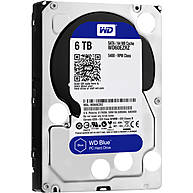 "Ổ Cứng HDD 3.5"" WD Blue 6TB SATA 5400RPM 64MB Cache (WD60EZRZ)"
