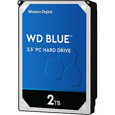 "Ổ Cứng HDD 3.5"" WD Blue 2TB SATA 5400RPM 256MB Cache (WD20EZAZ)"