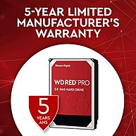 "Ổ Cứng HDD 3.5"" WD Red Pro 2TB NAS SATA 7200RPM 64MB Cache (WD2002FFSX)"