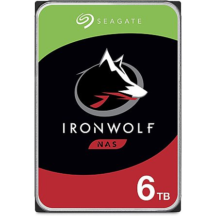"Ổ Cứng HDD 3.5"" Seagate IronWolf 6TB NAS SATA 5400RPM 256MB Cache (ST6000VN001)"