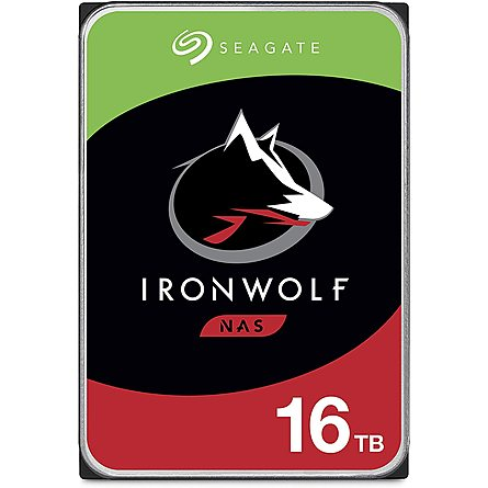 "Ổ Cứng HDD 3.5"" Seagate IronWolf 16TB NAS SATA 7200RPM 256MB Cache (ST16000VN001)"