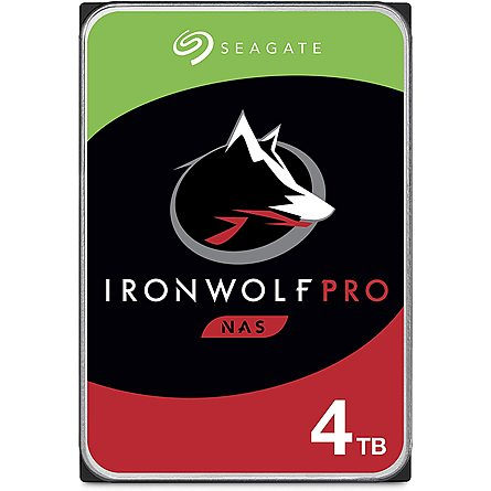 "Ổ Cứng HDD 3.5"" Seagate IronWolf Pro 4TB NAS SATA 7200RPM 128MB Cache (ST4000NE001)"