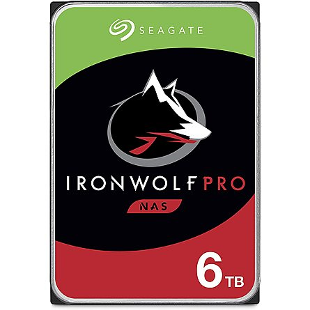 "Ổ Cứng HDD 3.5"" Seagate IronWolf Pro 6TB NAS SATA 7200RPM 256MB Cache (ST6000NE0023)"