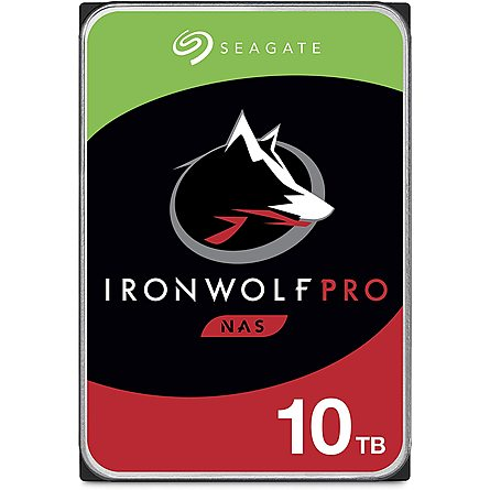 "Ổ Cứng HDD 3.5"" Seagate IronWolf Pro 10TB NAS SATA 7200RPM 256MB Cache (ST10000NE0008)"