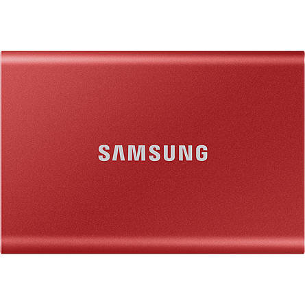 Ổ Cứng Di Động SAMSUNG T7 500GB SSD USB 3.2 Gen 2 Metallic Red (MU-PC500R/WW)