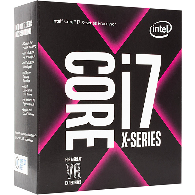 CPU Máy Tính Intel Core i7-7740X 4C/8T 4.30GHz Up to 4.50GHz 8MB Cache (Socket Intel LGA 2066)