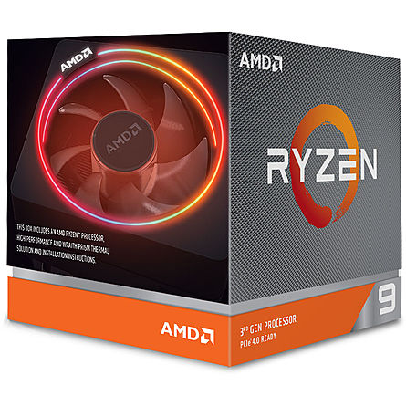 CPU Máy Tính AMD Ryzen 9 3900X 12C/24T 3.80GHz Up to 4.60GHz/64MB Cache/Socket AMD AM4