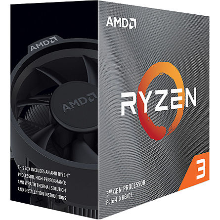 CPU Máy Tính AMD Ryzen 3 3100 4C/8T 3.60GHz Up to 3.90GHz/16MB Cache/Socket AMD AM4