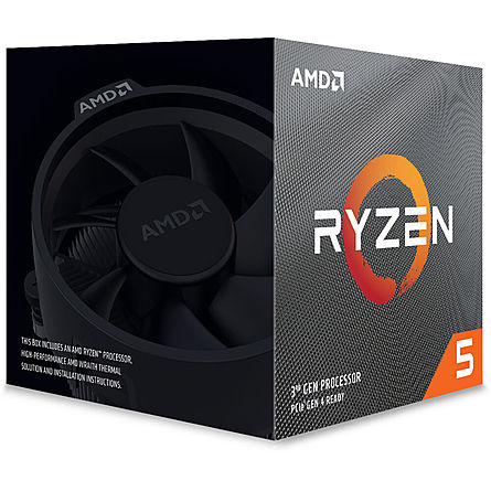 CPU Máy Tính AMD Ryzen 5 3600XT 6C/12T 3.80GHz Up to 4.50GHz/32MB Cache/Socket AMD AM4
