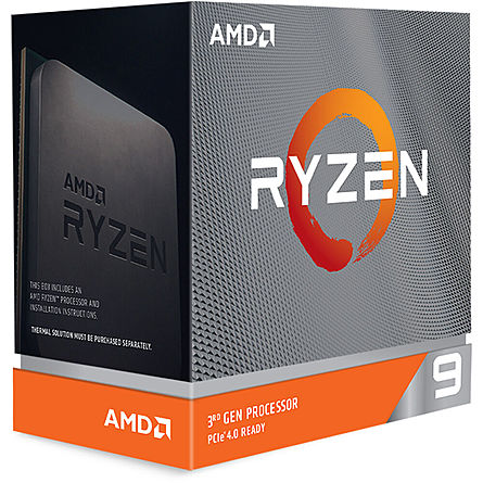 CPU Máy Tính AMD Ryzen 9 3900XT 12C/24T 3.80GHz Up to 4.70GHz/64MB Cache/Socket AMD AM4