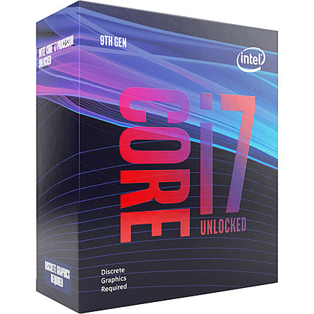 CPU Máy Tính Intel Core i7-9700KF 8C/8T 3.60GHz Up to 4.90GHz 12MB Cache (Socket Intel LGA 1151)