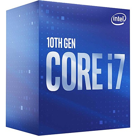 CPU Máy Tính Intel Core i7-10700 8C/16T 2.90GHz Up to 4.80GHz 16MB Cache UHD 630 (Socket Intel LGA 1200)
