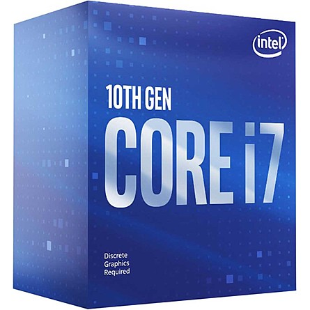 CPU Máy Tính Intel Core i7-10700F 8C/16T 2.90GHz Up to 4.80GHz 16MB Cache (Socket Intel LGA 1200)
