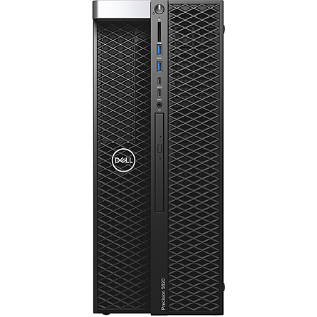 Máy Trạm Workstation Dell Precision 5820 Tower XCTO Base Xeon W-2223/16GB DDR4 ECC/1TB HDD + 256GB SSD/NVIDIA Quadro P2200 5GB GDDR5X/Win 10 Pro For Workstations