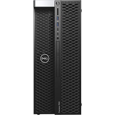 Máy Trạm Workstation Dell Precision 7820 Tower XCTO Base Xeon Silver 4112/16GB DDR4 ECC/2TB HDD + 256GB SSD/NVIDIA Quadro RTX 5000 16GB GDDR6/Win 10 Pro For Workstations