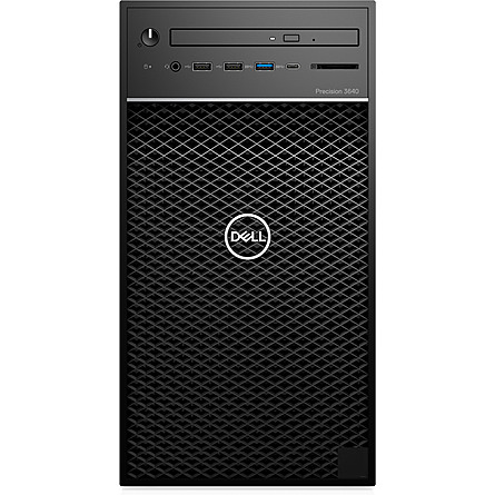 Máy Trạm Workstation Dell Precision 3640 Tower CTO Base Xeon W-1270P/8GB DDR4 nECC/1TB HDD + 256GB SSD/NVIDIA Quadro P2200 5GB GDDR5X/Win 10 Pro For Workstations