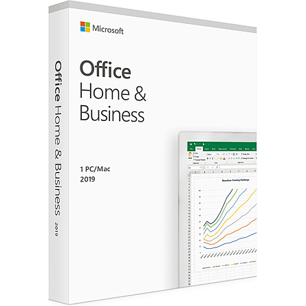 Phần Mềm Ứng Dụng Microsoft Office Home and Business 2019 English APAC EM Medialess P6 (T5D-03302)