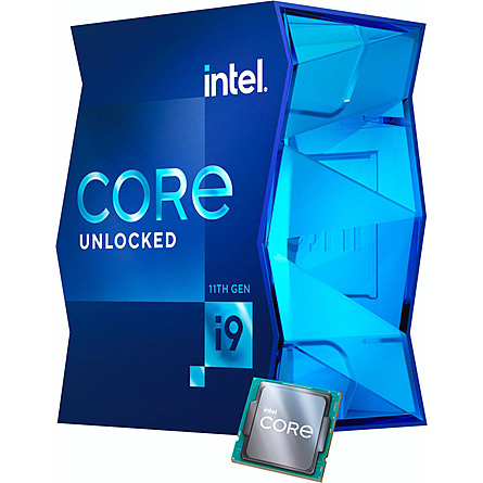 CPU Máy Tính Intel Core i9-11900K 8C/16T 3.50GHz Up to 5.30GHz 16MB Cache UHD 750 (LGA 1200)