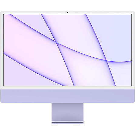 "iMac Mid 2021 M1 8-Core/8GB Unified/256GB SSD/8-Core GPU/24"" 4.5K (Purple)"
