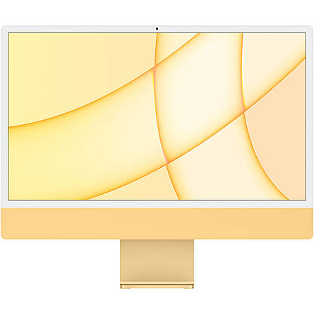 "iMac Mid 2021 M1 8-Core/8GB Unified/256GB SSD/8-Core GPU/24"" 4.5K (Yellow)"