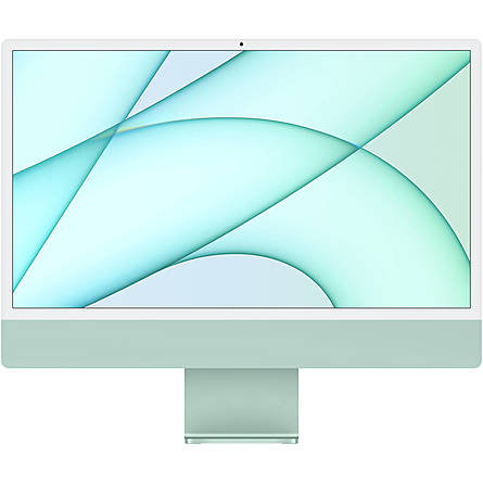 "iMac Mid 2021 M1 8-Core/8GB Unified/256GB SSD/7-Core GPU/24"" 4.5K (Green)"