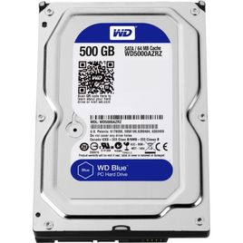Ổ Cứng HDD PC Western Blue 500GB 5400RPM 64MB Cache 3.5-Inch (WD5000AZRZ)