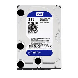 Ổ Cứng HDD PC Western Blue 3TB 5400RPM 64MB Cache 3.5-Inch (WD30EZRZ)