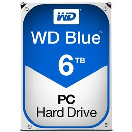 Ổ Cứng HDD PC Western Blue 6TB 5400RPM 64MB Cache 3.5-Inch (WD60EZRZ)