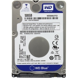 Ổ Cứng HDD NB Western Blue 500GB 5400RPM 16MB Cache 2.5-Inch (WD5000LPCX)