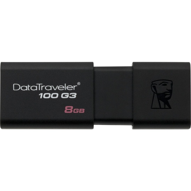 USB Máy Tính Kingston DataTraveler 100 G3 8GB USB 3.0 (DT100G3/8GB)