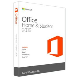 Phần Mềm Microsoft Office Home and Student 2016 Win English APAC EM Medialess (79G-04679)