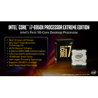Intel® Core™ i7-6950X Processor Extreme Edition 25M Cache, up to 3.50 GHz (Socket LGA2011)