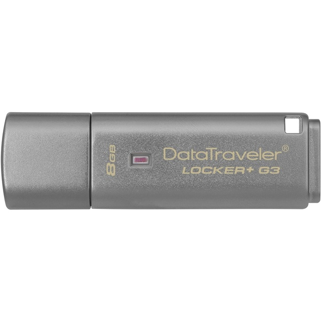 USB Kingston DataTraveler Locker+ G3 8GB USB 3.0 (DTLPG3/8GB)