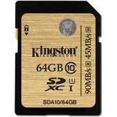 Thẻ Nhớ Kingston 64GB SDXC UHS-I Class 10 (SDA10/64GB)
