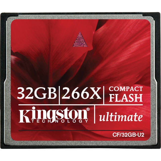 Thẻ Nhớ Kingston Compact Flash 32GB (CF/32GB-U2)