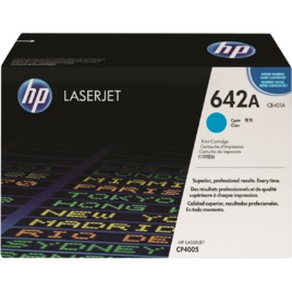 Mực In Laser Màu HP 642A Cyan Original LaserJet Toner Cartridge (CB401A)